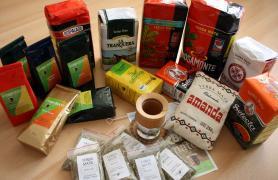Calabasa, bombilla, yerba mate tea