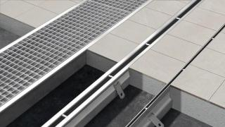 Drainage system in stainless steel - Anmaks