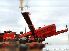Грохот SANDVIK QA240, 2011 г, 770 м/ч, из Европы