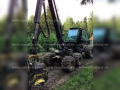 Harvester JOHN DEERE 1270D, 2007, from Europe