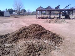Horse manure, horse manure in bags, fertilizer