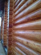 Insulation and processing of wooden houses