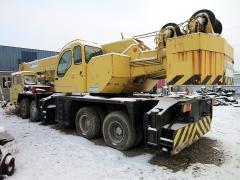 Mobile crane TADANO GT 650, 2500 m/h, 65 so, 8x4