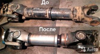 Ремонт и изготовление карданных валов в Санкт-Петербурге