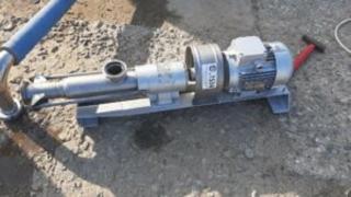 Screw pump P8-ONV-1-01, inv 1534