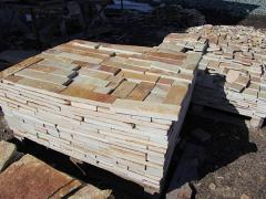 Sell tiles made from natural stone zlatolit