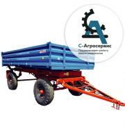 the trailer 2 PTS 4 5 model 887к