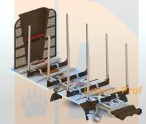 Timber bunks, timber superstructures, timber trucks, timber trucks