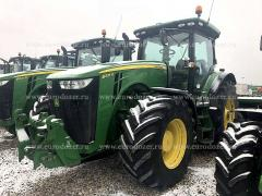 Tractor JOHN DEERE 8335, 2014, 4975 m/h, from Europe